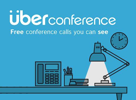 UberConference Bookmark