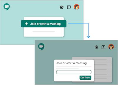 Bắt đầu một cuộc họp từ web