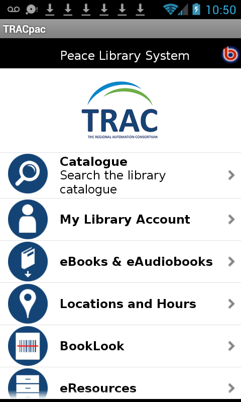 TRACpac- screenshot