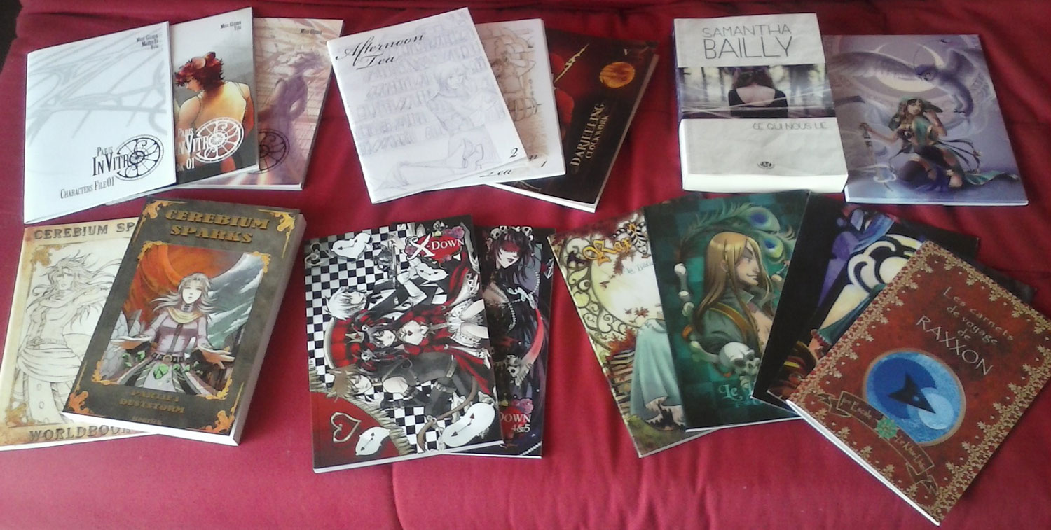 Photo: This year's loot.