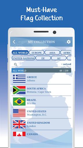 The Flags of the World u2013 Nations Geo Flags Quiz 5.1 screenshots 7
