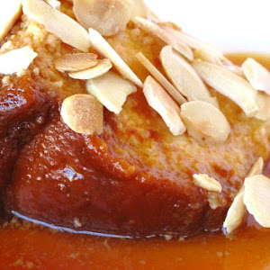 Almond Bread Pudding