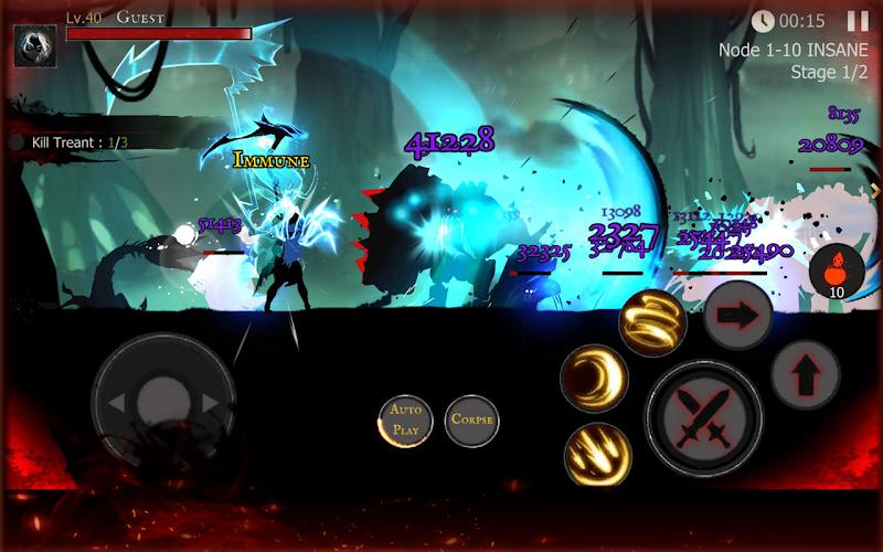 Shadow of Death: Dark Knight - Stickman Fighting Screenshot 3