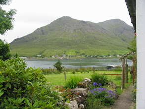 Photo: Garden view to Sconser Pier