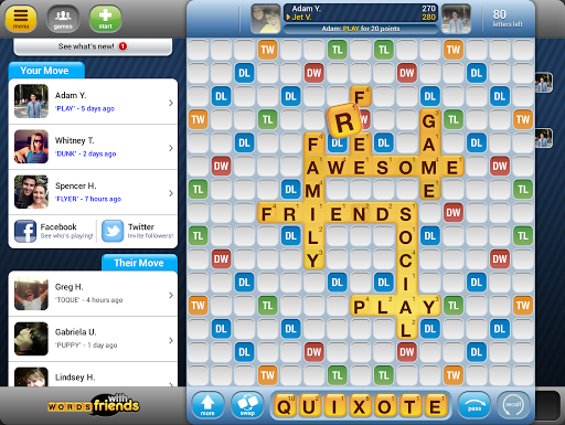 Words With Friends Classic screenshot 7