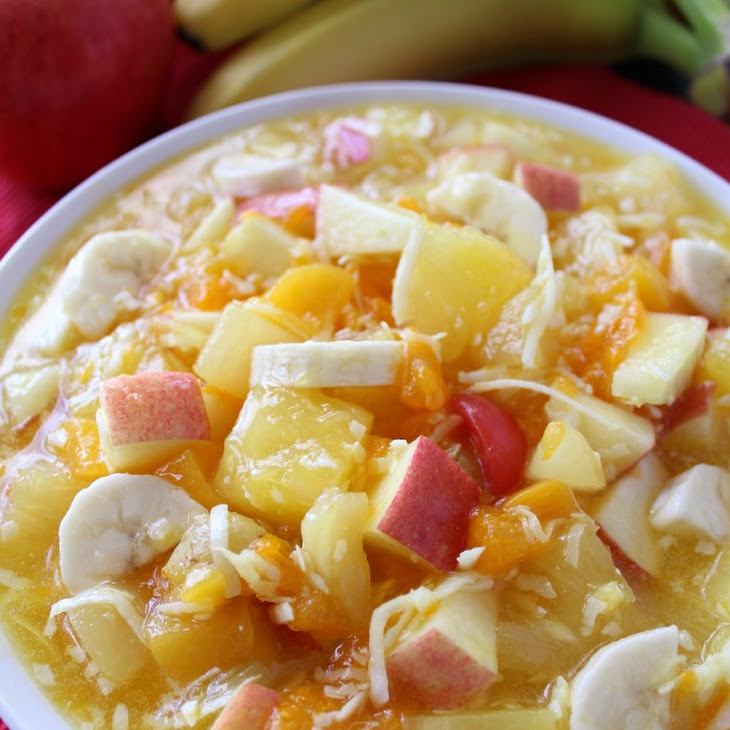 Fruit Pudding Salad Recipe