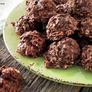 Chocolate Oatmeal No-Bake Cookies.