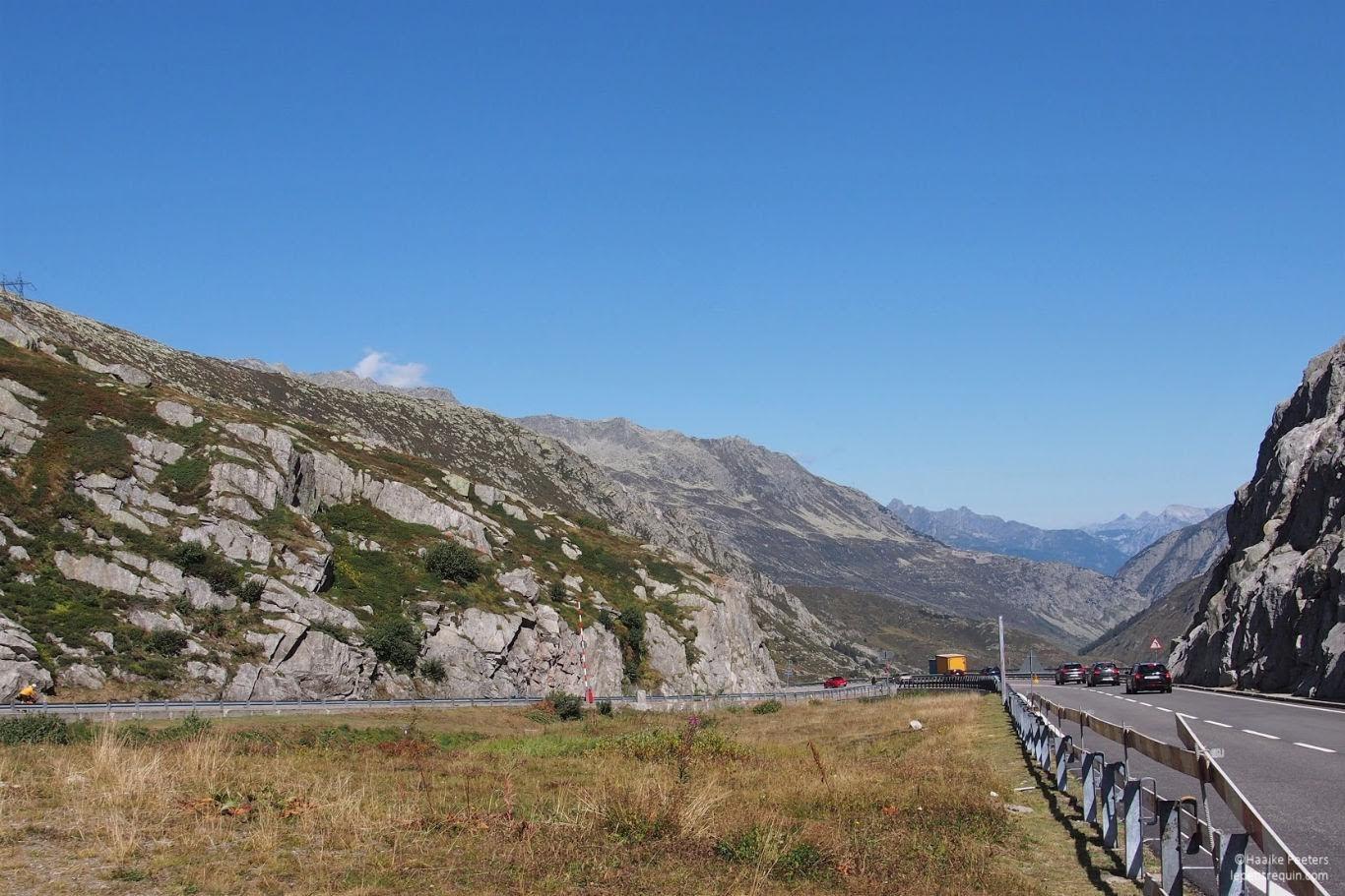 Gotthardpass (Le petit requin)