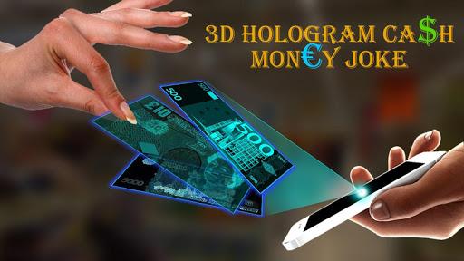 3D全息现金货币笑话