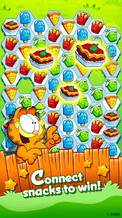 ApkMod1.Com Garfield Snack Time + МOD (Unlimited Coins/Vip Purchased) for Android Game Puzzle
