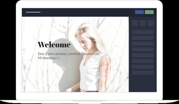 Logiciel de création de site web