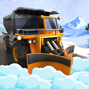 Heavy Snow Plow Excavator Simulator Game 2020