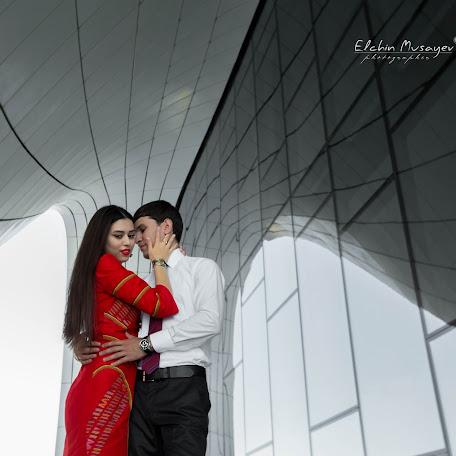 Fotógrafo de bodas Elcin Musayev (ElcinMusayev). Foto del 07.12.2017