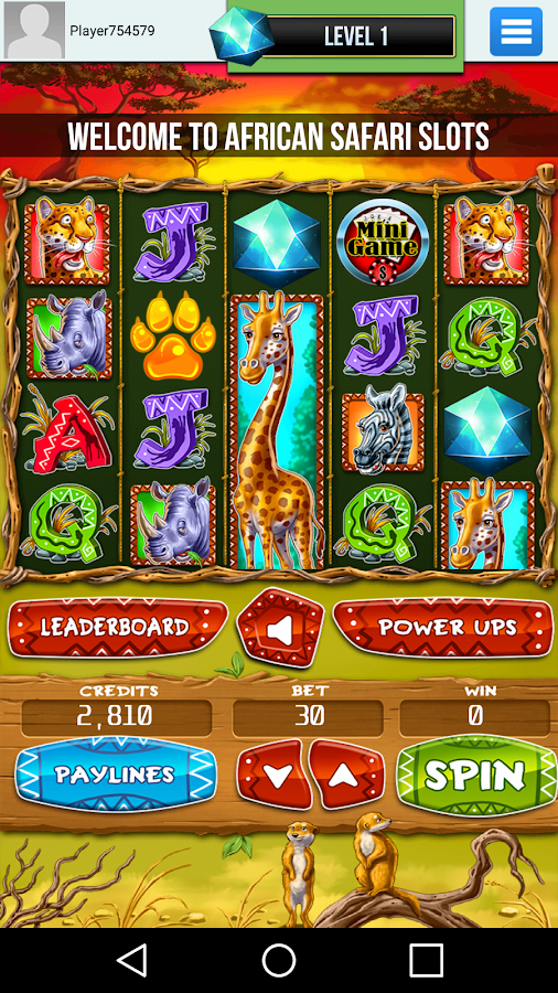 African Safari | Slot Machines- screenshot