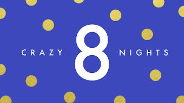 Eight Crazy Nights - Hanukkah Template