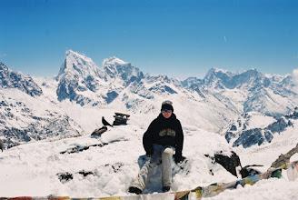 Photo: Jule auf dem Gipfel