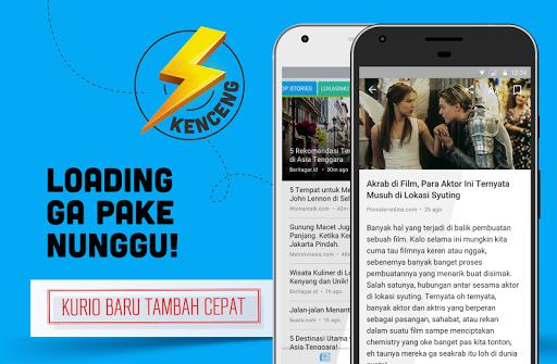 Kurio – Baca Berita Terbaru app (apk) free download for Android/PC/Windows screenshot