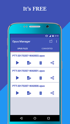 Voice & Audio Manager for WhatsApp , OPUS to MP3 4.1.4 screenshots 8