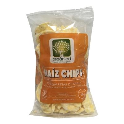 chips de maiz sin gluten 50g