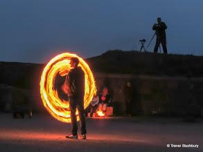 Photo: Aberdeen Firespinners, Torry Battery