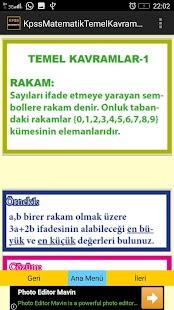 KPSS Matematik Temel Kavramlar - náhled