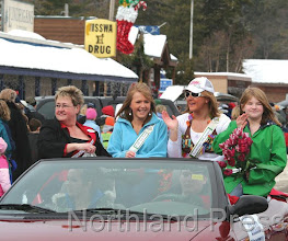 Photo: The Thurlow family was honored as Grand Marshal for the NIsswa  Jubilee Parade - photo by Paul Boblett