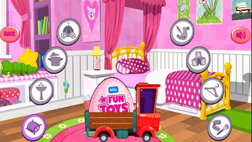 Princess Dolls Pink Cleaning 2 screenshot 1