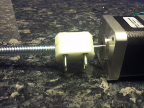 Photo: the printed shaft-coupling.
