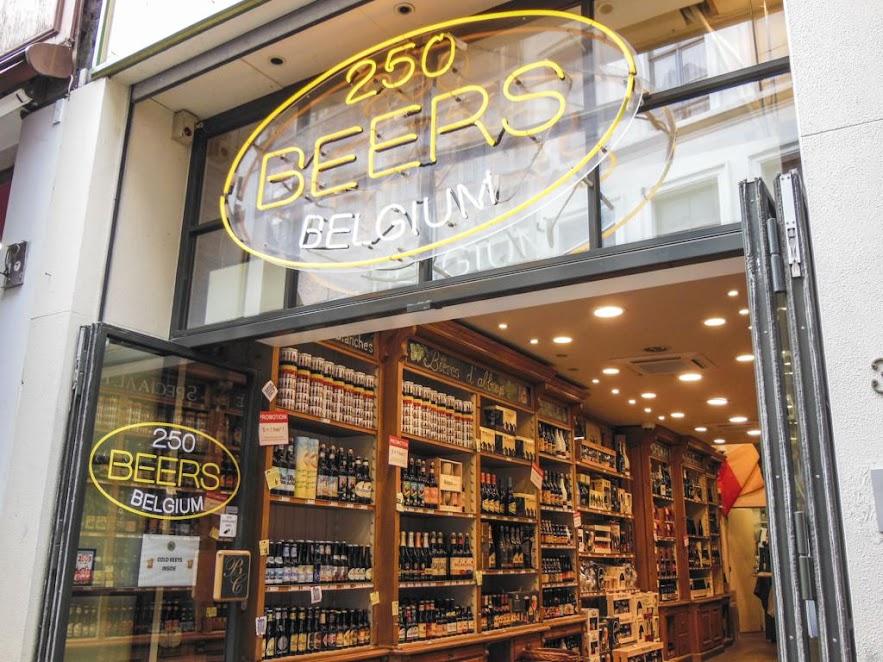 250 Beers Belgium.