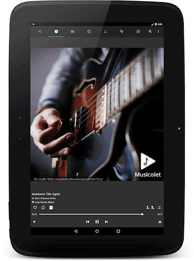 Musicolet Music Player [Free, No ads] screenshot 10