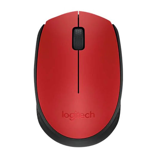 Logitech Wireless Mouse M171 RED-K WRLS IN