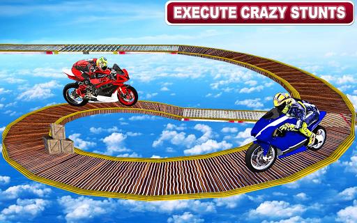 Racing Moto Bike Stunt -Impossible Track Bike Game apkdebit screenshots 1