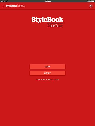 StyleBook Miniconf screenshot 5