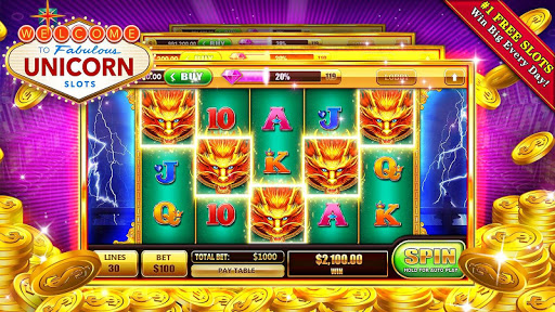 Slots Unicorn - Free Casino  screenshots 5