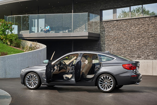 The BMW 3-Series GT offers more legroom than a 3 Series Sedan and more luggage space than a 3 Series Touring station wagon.