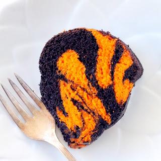 Bengal Striped Bundt Cake