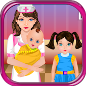 Pregnant Nurse Girl Care