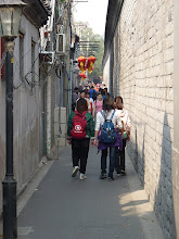 Photo: Beijing - east from Houhai lake is Houhai Jiadao narrow street