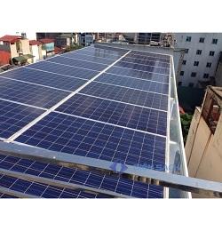 Hệ thống điện mặt trời nối lưới ba pha 10kw