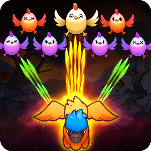 Poultry Shoot Blaster: Free Space Shooter
