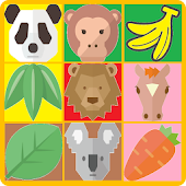 Hungry Animals Puzzle Game