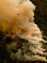 Photo: East Basin Complex, California Fires of 2008