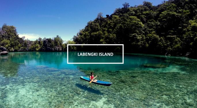 Exploring Labengki Island seas