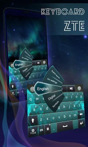 ZTEのキーボード