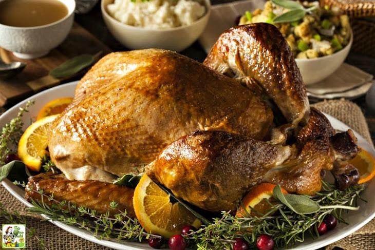 Smoked Turkey with Maple-Herb Brine Recipe