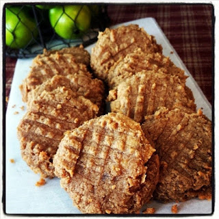 Cleanest, Easiest, Yummiest, Peanut Butter Cookies