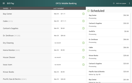 OFCU Mobile Banking screenshot 14