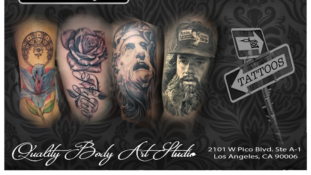 One Way Tattoo Shop Tattoo Shop In Los Angeles Ca