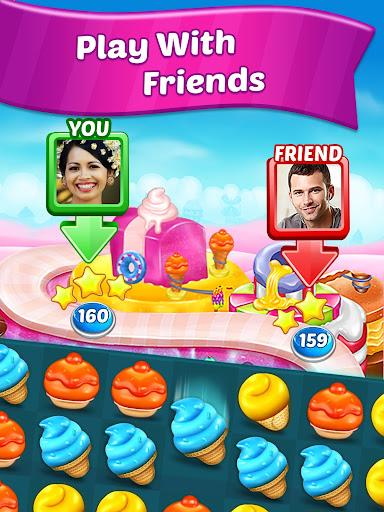 Ice Cream Paradise - Match 3 Puzzle Adventure