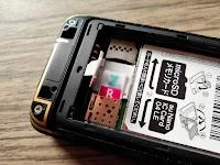 Au Gratina KYF39に楽天モバイル(MNO)の無料サポータープログラム用SIMカードを挿す